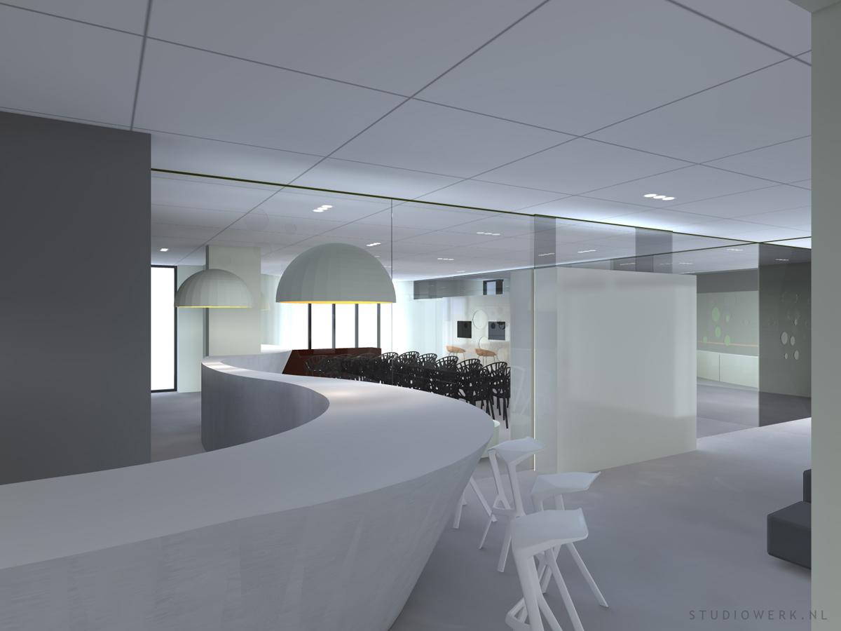 3D visualisatie VIP lounge te Amsterdam – Studiowerk