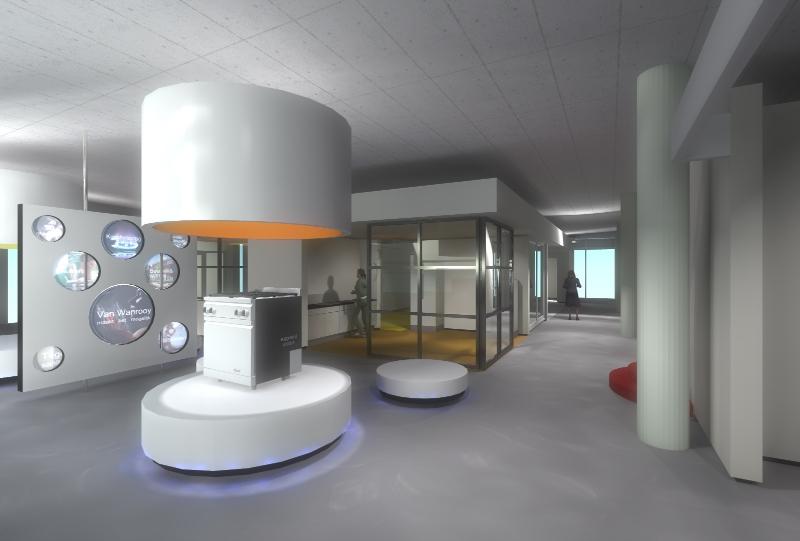 Nieuwbouw Keuken Badkamer : Nieuwbouw showroom badkamers, tegels, keukens ? Studiowerk